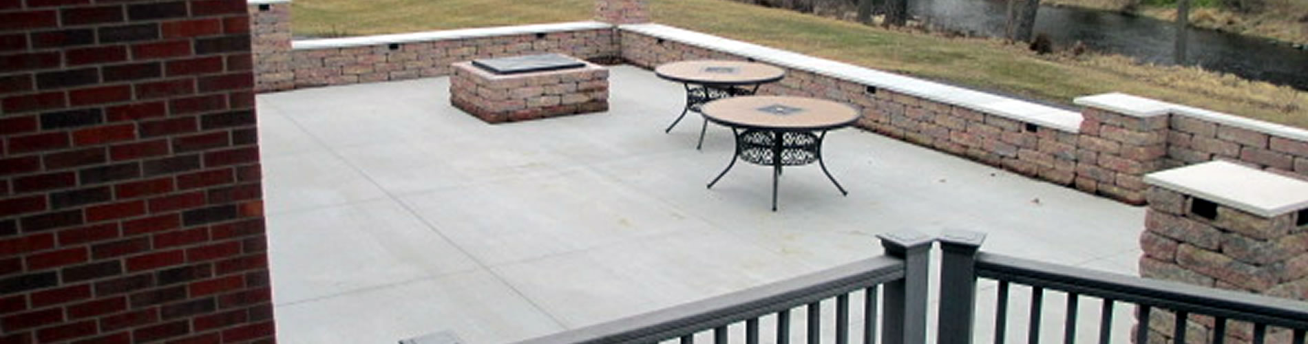 Decorative Concrete Installation Waukesha Wisconsin